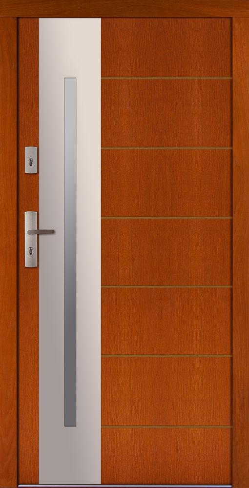 Drzwi CAL wzór Longinus