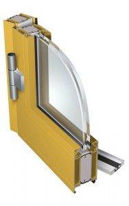 Drzwi aluminiowe przeciwpożarowe PE 78