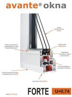 okna Avante Forte ulotka