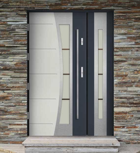 Unikalne BARAŃSKI drzwi drewniane - BUDEXPOL Siedlce DQ56